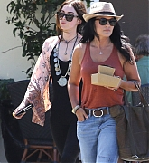 Megan Fox and her sister out in Los Angeles with her sister - July 13